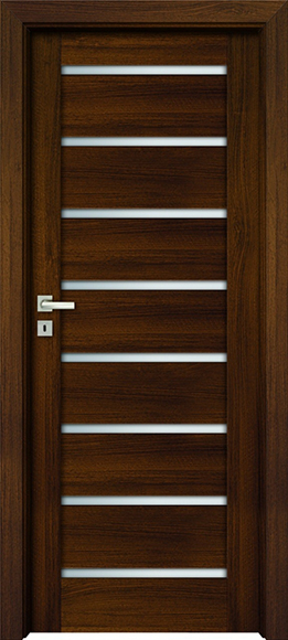 Dvere hnedé